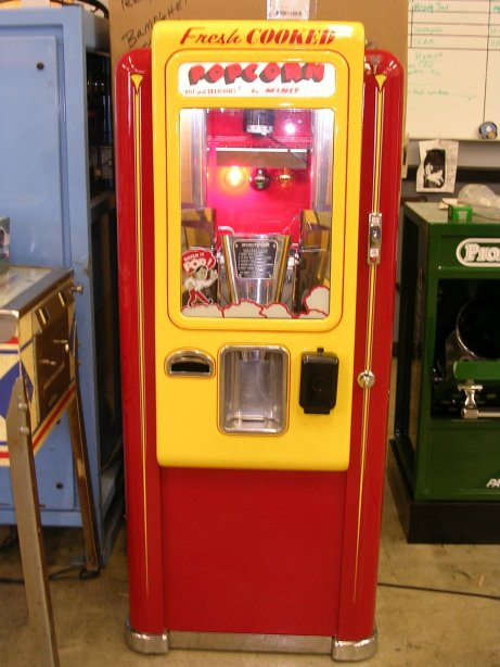 Pop Machine For Sale >> Vintage Popcorn Machine Page