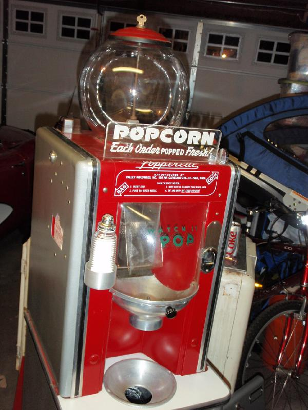 i sell of the original popperette popcorn machine manual and operating - Popcorn Machine For Sale