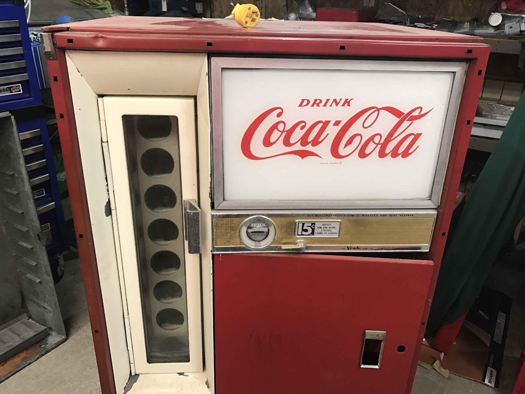 vendo 63 coke machine